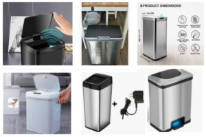 Automatic Trash Cans